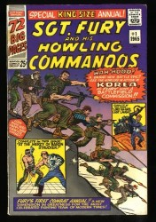 Sgt. Fury and his Howling Commandos Annual #1 FN- 5.5