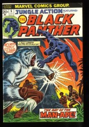 Jungle Action #5 FN 6.0 1st Black Panther in title!