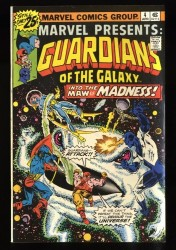 Marvel Presents #4 VF- 7.5 Guardians of the Galaxy!