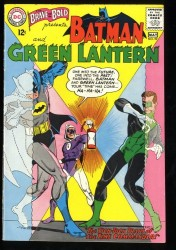 Brave And The Bold #59 VF 8.0 White Pages Batman Green Lantern!