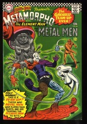 Brave And The Bold #66 VF- 7.5 White Pages Metamorpho Metal Men!