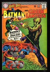 Brave And The Bold #69 VF/NM 9.0 White Pages Batman Green Lantern!