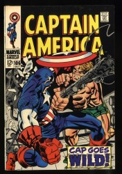Captain America #106 VF 8.0 White Pages