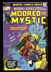 Marvel Chillers #1 FN 6.0 1st Modred the Mystic!
