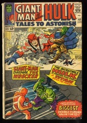 Tales To Astonish #63 GD/VG 3.0 Qualified Read Description! 1st Leader!