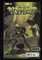 All-New Wolverine #2 CGC NM+ 9.6 White Pages 1st Honeybadger!