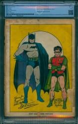 Back Cover Batman 1