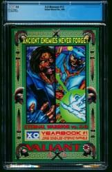 Back Cover Wizard Presents: X-O Manowar 0
