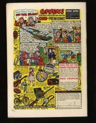 Back Cover Adventure Comics 233
