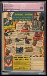 Back Cover Detective Comics 85