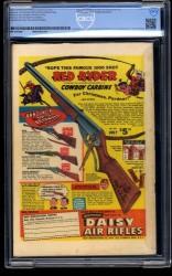 Back Cover Detective Comics 192