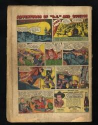 Back Cover Detective Comics 110