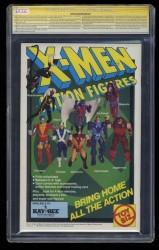 Back Cover X-Men (1991) 1