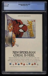 Back Cover Amazing Spider-Man 407