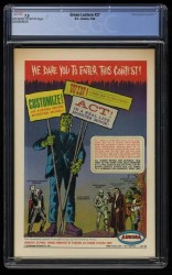 Back Cover Green Lantern 27