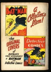 Back Cover Batman Annual 5