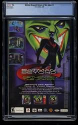 Back Cover Batman Beyond: Return of the Joker 1