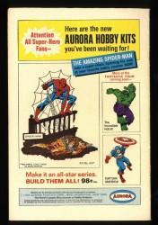Back Cover Fantastic Four 59