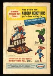 Back Cover Fantastic Four 60