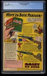 Back Cover Detective Comics 163