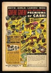 Back Cover Detective Comics 269