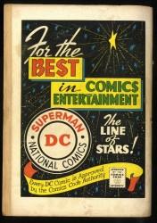 Back Cover Detective Comics 257